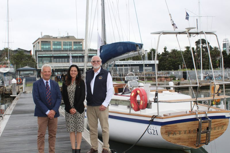 Christine Couzens Mp Announces Support Of 2020 Wooden Boat Festival